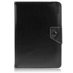 ENKAY ENK-7041 Crazy Horse Leather Case for 10-inch Tablet PCs, Size: 23.5-26 x 14-17cm - Black