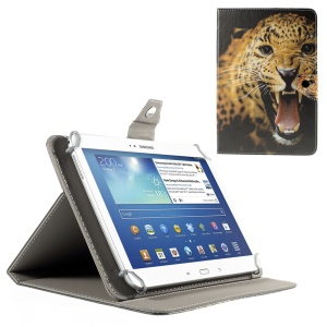 Roaring Leopard Magnetic Leather Cover for iPad Air 2 / Galaxy Tab 8.9, Size: 265x175mm