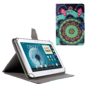 PU Leather Cover for iPad Air 2 / Sony Xperia Z4 Tablet, Size: 265x177mm - Mandala Flowers Butterflies