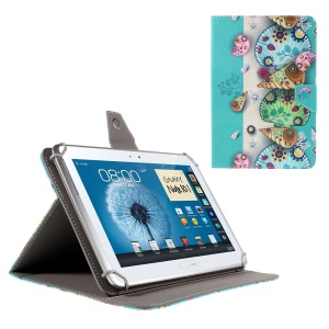 Leather Flip Case for iPad Air 2 / Sony Xperia Z4 Tablet, Size: 265x177mm - Mandala Style Sea Animals