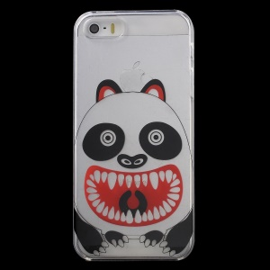 KAVARO Patterned Clear PC Hard Phone Case for iPhone 5s 5 - Monster