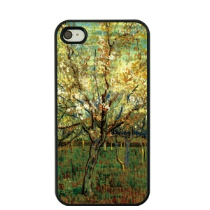 Oil Painting by Vincent Van Gogh Hard Shell for iPhone 4S / 4 - Orchard in Blossom