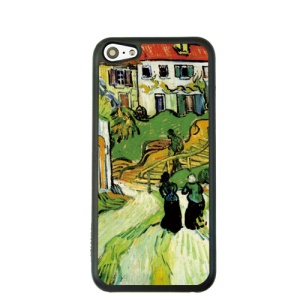 Oil Painting Style for iPhone 5c Back Phone Case - Village Street