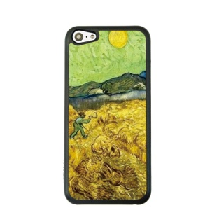 Oil Painting Style for iPhone 5c Hard Cover Protector - Wheat Reaper