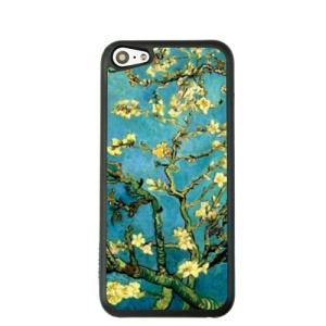 Oil Painting Style for iPhone 5c Hard Cover Protector - Flowering Almond Tree