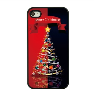 Christmas Series Hard Plastic Cover for iPhone 4s / 4 - Christmas Decorations