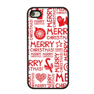 Christmas Series Hard Protective Shell for iPhone 4s / 4 - Christmas Wishes