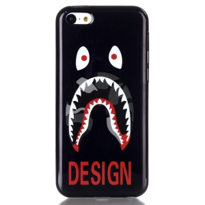 IMD TPU Phone Case Shell for iPhone 5C - Monster