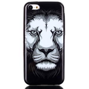 IMD TPU Phone Protective Case Shell for iPhone 5C - Cool Lion