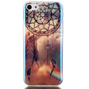 Blu-ray IMD TPU Back Phone Cover for iPhone 5c - Dream Catcher