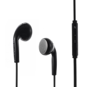 MOSIDUN M22 3.5mm Stereo Earphone Headset with Mic for iPhone - Black