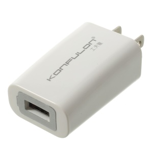 KONFULON C13 1A USB Charger Adapter for iPhone Samsung LG Sony Etc - US Plug