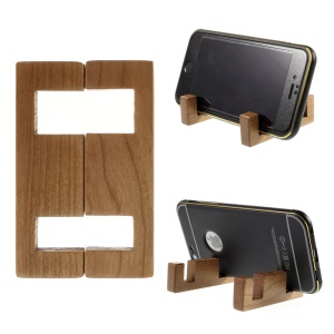 Simple Style Zebra Wood Stand Mount for iPhone Samsung Sony