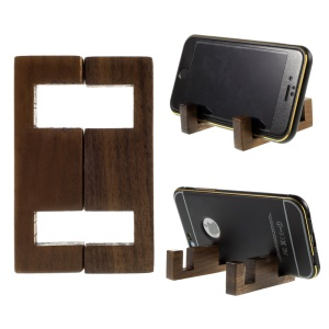 Simple Style Manchurian Ash Wood Stand Mount for iPhone Samsung Sony