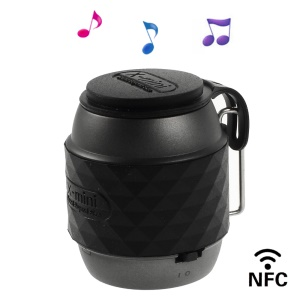 X-mini WE Portable Wireless Bluetooth Stereo Super Bass Speaker w/ NFC Function - Black