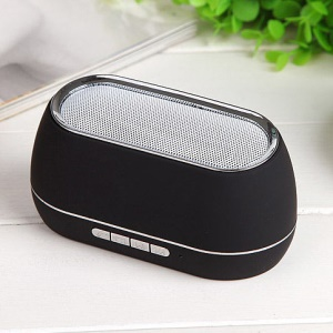Black Gaoke A16 Portable Hands-free Wireless Bluetooth Speaker Support TF Card / AUX Port