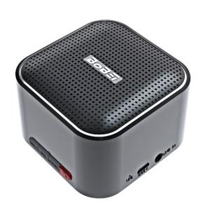 BOBEI C8 Compact Handsfree TF Card Bluetooth Speaker with Mic - Black