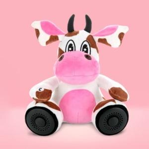 Lofter Plush Doll Portable Wireless Bluetooth Hands-free FM Radio Speaker - Zebra Lofter