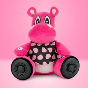 Lofter Plush Doll Portable Wireless Bluetooth Hands-free Speaker Support FM Radio - Cow Nancy