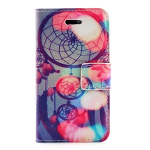 Dream Catcher Leather Magnetic Case Stand for iPhone 4s 4