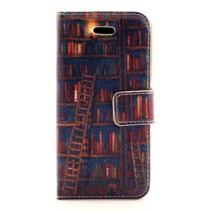 Various Books Leather Stand Case Accessory for iPhone 5s 5