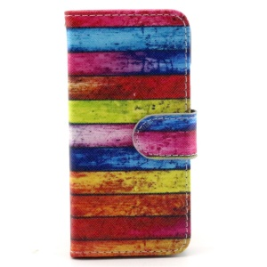 Colorful Board PU Leather Protective Case for iPhone 6