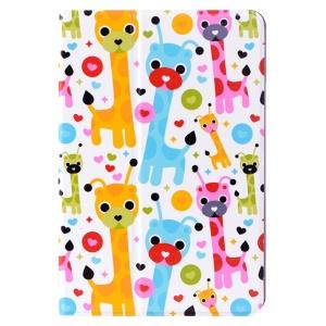 LOFTER Le Series Smart Leather Stand Case for iPad mini / mini 2 / mini 3 - Smug Deer