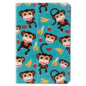 LOFTER Le Series Smart Leather Stand Case for iPad mini / mini 2 / mini 3 - Spring Monkey