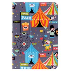LOFTER Le Series Swivel Stand Smart Leather Case Cover for iPad mini / mini 2 / mini 3 - The Circus