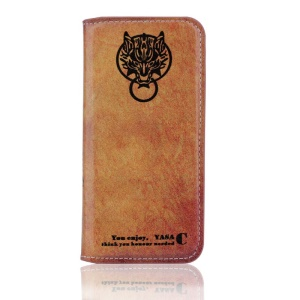 Vintage Leather Stand Case Accessory for iPhone 5s 5 - Patron Saint