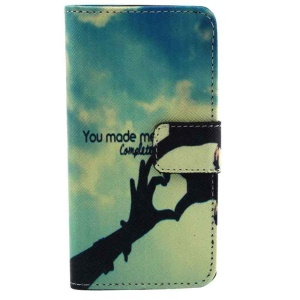 You Made Me Complete Wallet Leather Stand Case for iPhone 5c
