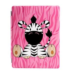 Cute Sitting Zebra- Pink