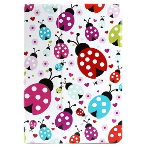 Lofter 360° Rotary Stand Smart Leather Cover for iPad Air - Ladybugs