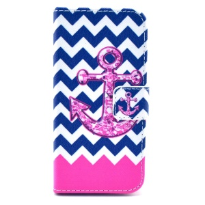 Anchor & Stripes PU Leather Stand Case for iPhone 5s 5