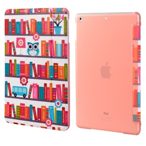 LOFTER Garden Series Smart Leather Stand Case for iPad Air - Colorful Fairy Tale World