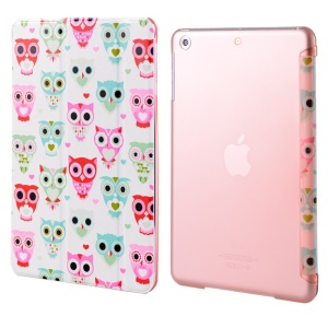 LOFTER Garden Series Smart Leather Stand Cover for iPad Air - Owl World