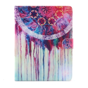 Flip Smart Leather Wallet Stand Cover for iPad 2 3 4 - Dream Catcher Painting