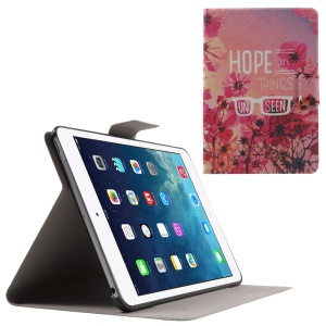 Flip Sweet Fragrance PU Leather Case for iPad Mini 3 / 2 / 1 - Hope in the Things Unseen
