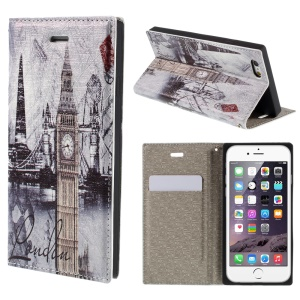 PU Leather Stand Shell for iPhone 6 4.7 inch - Big Ben