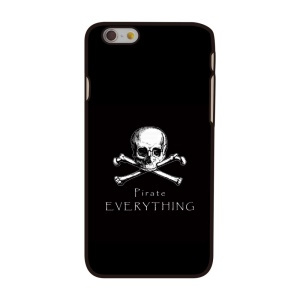 Skull Pirate Everything Plastic Hard Case for iPhone 6 4.7 inch