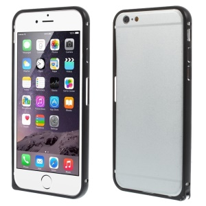 Hippocampal Buckle Metal Bumper Case for iPhone 6 - Black