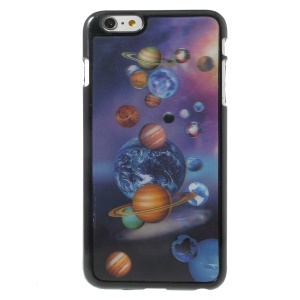 3D Effect Various Planets Hard Plastic Shell for iPhone 6 Plus