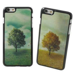 3D Effect Dynamic Tree Hard Plastic Shell for iPhone 6 Plus