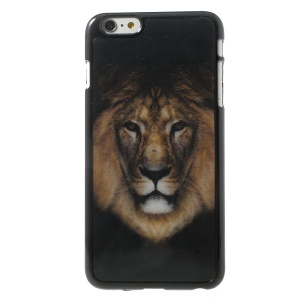 3D Effect Lion Head Hard Plastic Skin Shell for iPhone 6 Plus
