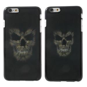 3D Effect Dynamic Skull Head Hard Plastic Case Shell for iPhone 6 Plus