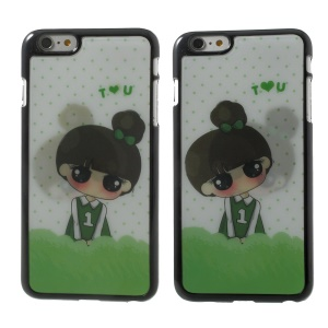 3D Effect Dynamic Neat Bang Girl Hard Case for iPhone 6 Plus