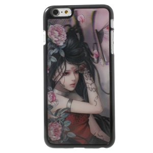 3D Effect Sexy Tattoo Girl Hard Protective Cover for iPhone 6 Plus