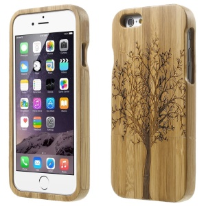 Detachable Bamboo Protective Cover for iPhone 6 - Stylish Tree