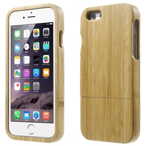 Real Bamboo Detachable Protective Hard Case for iPhone 6