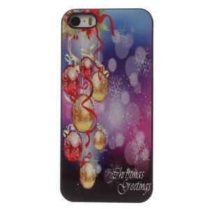 Christmas Decoration Balls Aluminium Alloy Skin Hard Cover for iPhone 5 5s